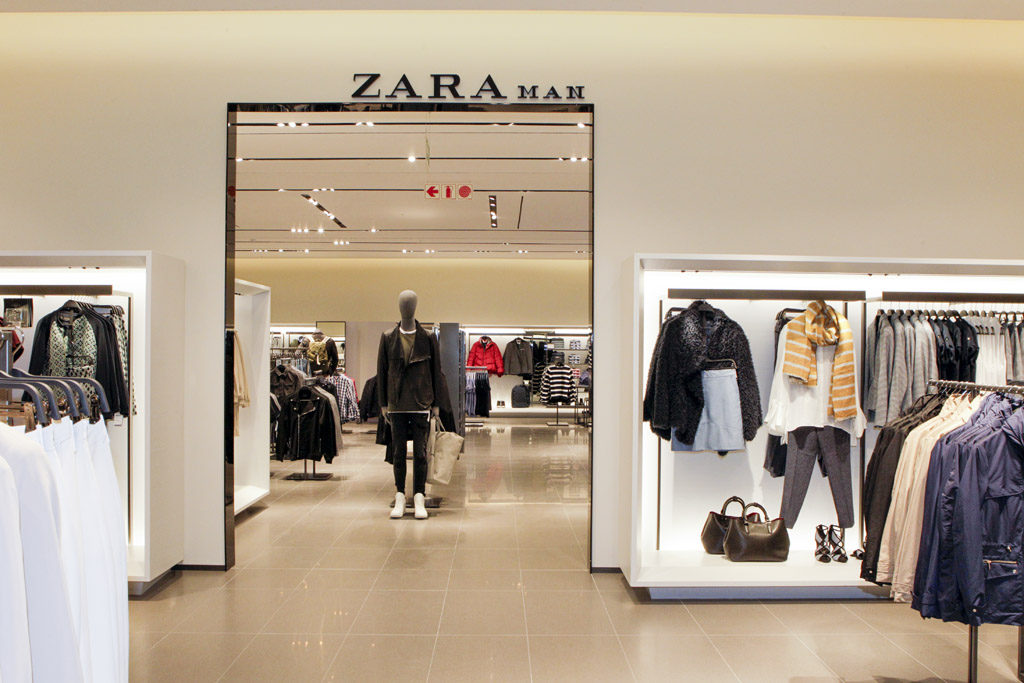 Business vision of zara clothing